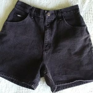 Vintage Lee high-waisted / Mom shorts Size 12